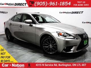 Used 2015 Lexus IS 250 | AWD| SUNROOF| NAVI| BLIND SPOT DETECTION| for sale in Burlington, ON