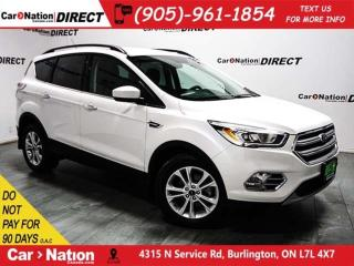 Used 2017 Ford Escape SE| NAVI| BACK UP CAMERA| POWER DRIVERS SEAT| for sale in Burlington, ON