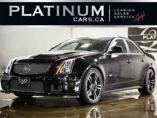 Used 2012 Cadillac CTS-V 556HP, NAVI, PANO, CAM, HEATED COOLED LEATHER CTS-V for sale in North York, ON