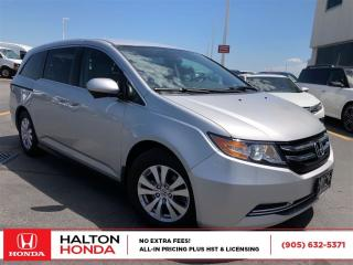 Used 2014 Honda Odyssey EX|SERVICE HISTORY ON FILE|ACCIDENT FREE for sale in Burlington, ON