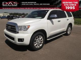 Used 2012 Toyota Sequoia Platinum 5.7L V8 NAVI/DVD/SUNROOF for sale in North York, ON