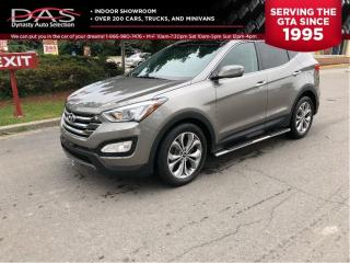 Used 2015 Hyundai Santa Fe Sport LIMITED AWD NAVIGATION/PANORAMIC SUNROOF/LEATHER for sale in North York, ON