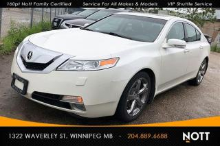 Used 2009 Acura TL V6 Technology PKG Nav Backup C for sale in Winnipeg, MB