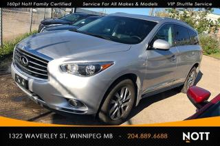 Used 2014 Infiniti QX60 Deluxe Touring PKG AWD Nav 360 for sale in Winnipeg, MB