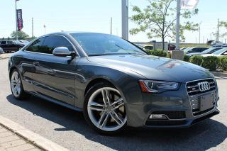 Used 2016 Audi S5 3.0T Technik + Backup Cam | Navigation System for sale in Whitby, ON