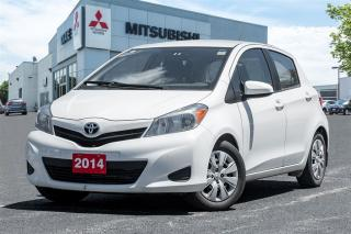 Used 2014 Toyota Yaris MANUAL TRANSMISSION|AC|CLEAN CARPROOF| for sale in Mississauga, ON