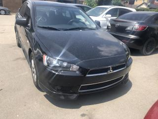 Used 2014 Mitsubishi Lancer SE for sale in Hamilton, ON