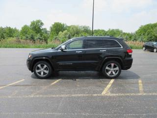 Used 2014 Jeep GR CHEROKEE OVERLAND DIESEL 4WD for sale in Cayuga, ON