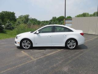 Used 2015 Chevrolet Cruze 2LT RS FWD for sale in Cayuga, ON