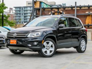 Used 2014 Volkswagen Tiguan COMFORTLINE SPORT TECHNOLOGY PACKAGE for sale in Toronto, ON