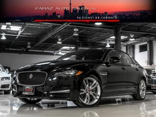 Used 2016 Jaguar XF R-SPORT|35t AWD|HUD|NAVI|BLINDSPOT|REAR CAM|COOLED SEATS|LOADED for sale in North York, ON