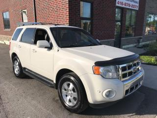 Used 2011 Ford Escape Limited for sale in Etobicoke, ON