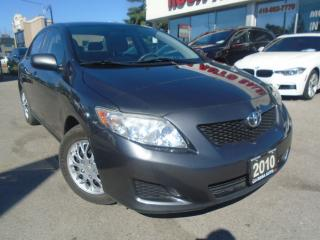 Used 2010 Toyota Corolla CE NO ACCIDENTS SAFETY AND E TEST INC for sale in Oakville, ON