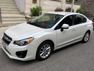Used 2013 Subaru Impreza Touring Package; 4 Door; Low Mileage for sale in Ottawa, ON