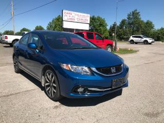 Used 2013 Honda Civic Touring for sale in Komoka, ON