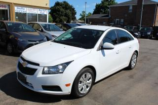 Used 2014 Chevrolet Cruze 1LT Bluetooth Backup Cam for sale in Brampton, ON