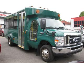 Used 2010 Ford Econoline E350 Superduty Bus 16 Pass+driver 5.4L 8cyl. AC for sale in Ottawa, ON