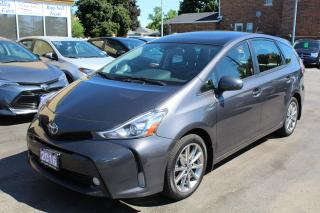 Used 2016 Toyota Prius v Touring Panorama Roof Leather Navi for sale in Brampton, ON