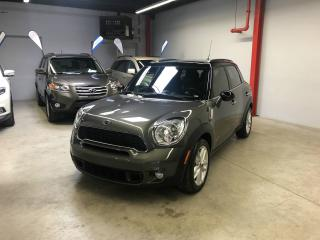 Used 2014 MINI Cooper Countryman S, ALL4, 4 PORTES, TOIT OUVRANT, CUIR, + for sale in Montreal, QC