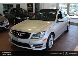 Used 2014 Mercedes-Benz C-Class C300 Awd, Toit Pano for sale in Quebec, QC