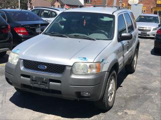 Used 2002 Ford Escape XLT SPORT for sale in York, ON