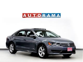 Used 2015 Volkswagen Passat HIGHLINE NAVIGATION LEATHER SUNROOF BACKUP CAMERA for sale in North York, ON