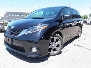 Used 2017 Toyota Sienna SE TOP PACKAGE ENTERTAINMENT LEASE AND RENTAL $$$$ for sale in Toronto, ON