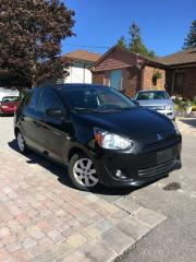 Used 2014 Mitsubishi Mirage SE VERY ECONOMICAL ON GAS NO ACCIDENTS CERTIFIED for sale in Bradford, ON