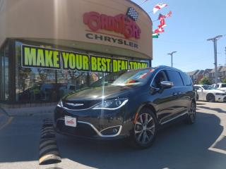 Used 2017 Chrysler Pacifica Limited 8PASS NAVI DVD TOW PKG VACCUM BLIND SPOT for sale in Scarborough, ON