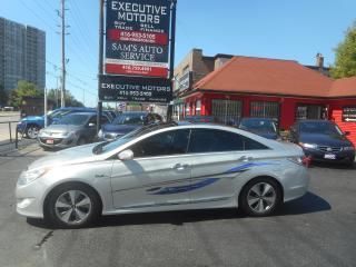 Used 2012 Hyundai Sonata HYBRID / FUEL SAVER / LOADED / SUNROOF / CLEAN for sale in Scarborough, ON