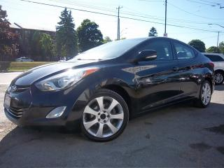 Used 2011 Hyundai Elantra Limited for sale in Whitby, ON
