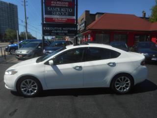 Used 2013 Dodge Dart LIMITED / NAVIGATION / NO ACCIDENT / PUSH START for sale in Scarborough, ON