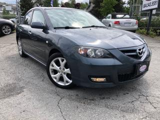 Used 2008 Mazda MAZDA3 GT LIMITED for sale in Surrey, BC