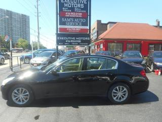 Used 2007 Infiniti G35X LUXURY / AWD / CLEAN /  PUSH START /  LOADED for sale in Scarborough, ON