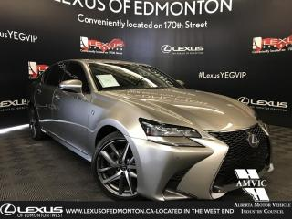 Used 2018 Lexus GS 350 F sport Series 2 for sale in Edmonton, AB