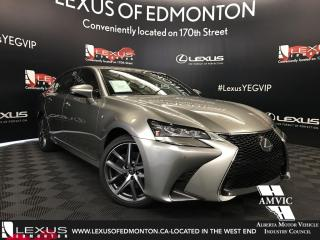 New 2018 Lexus GS 350 F sport Series 2 for sale in Edmonton, AB