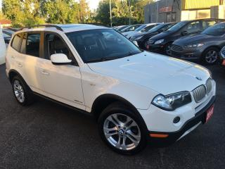 Used 2010 BMW X3 3.0i/ FULLY LOADED/ PANORAMIC SUNROOF/ ALLOYS for sale in Scarborough, ON