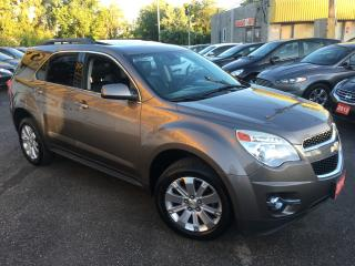 Used 2010 Chevrolet Equinox 2LT/ LEATHER/ SUNROOF/ REVERSE CAMERA/ FULLY LOADE for sale in Scarborough, ON