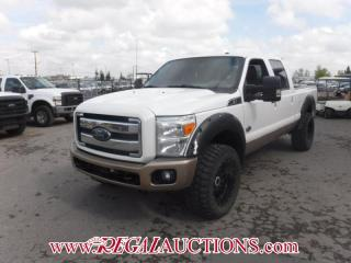 Used 2012 Ford F350 S/D KING RANCH CREW CAB SWB SRW 4WD 6.7L for sale in Calgary, AB