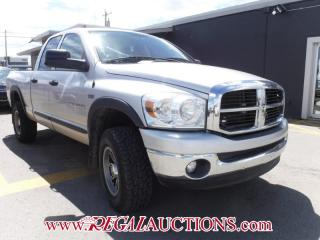 Used 2007 Dodge RAM 1500 SLT QUAD CAB 4WD for sale in Calgary, AB