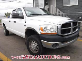 Used 2006 Dodge RAM 2500  4D QUAD CAB 5.7L 4WD for sale in Calgary, AB