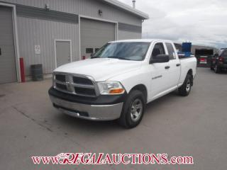 Used 2011 Dodge RAM 1500 SXT QUAD CAB SWB 4WD 4.7L for sale in Calgary, AB