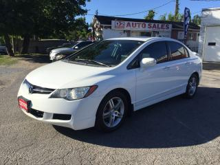 Used 2008 Acura CSX 5 Speed Manual/Leather/Roof/Loaded/Gas Saver for sale in Scarborough, ON