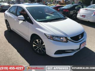Used 2013 Honda Civic EX | ROOF | CAM | BLUETOOTH for sale in London, ON