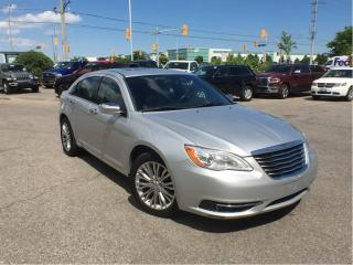 Used 2012 Chrysler 200 LIMITED**LEATHER**POWER SUNROOF** for sale in Mississauga, ON