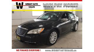 Used 2013 Chrysler 200 Limited|LEATHER|SUNROOF|BLUETOOTH|92,277 KMS for sale in Cambridge, ON
