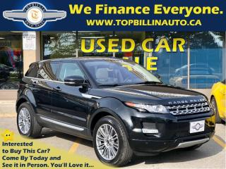 Used 2012 Land Rover Evoque Prestige, Navigation, Sky Roof, Backup Camera for sale in Concord, ON