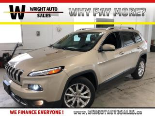 Used 2015 Jeep Cherokee Limited|NAVIGATION|MOON ROOF|LEATHER|57,568 KMS for sale in Cambridge, ON