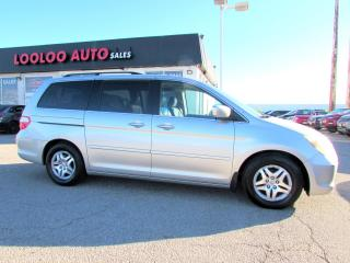 Used 2006 Honda Odyssey EX-L DVD PKG LEATHER SUNROOF POWER SLIDING DOOR for sale in Milton, ON