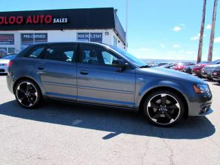 Used 2013 Audi A3 S-LINE 2.0L PANORAMIC ROOF 6 SPD MANUAL CERTIFIED for sale in Milton, ON